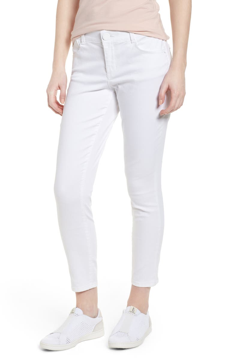 WIT & WISDOM Ab-solution Ankle Skimmer Jeans, Main, color, 107