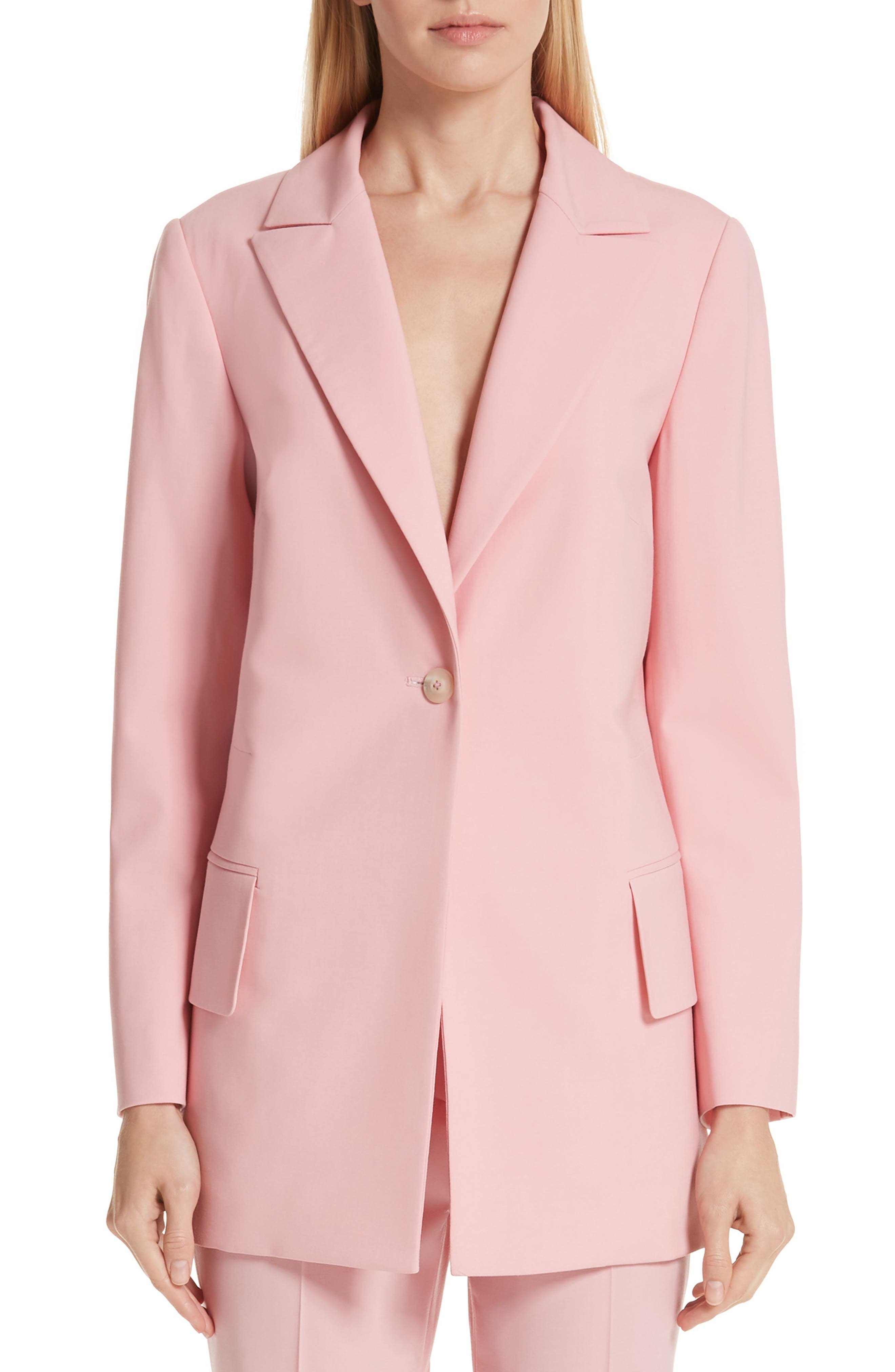 Brody Stretch Wool Jacket, Main, color, ROSE