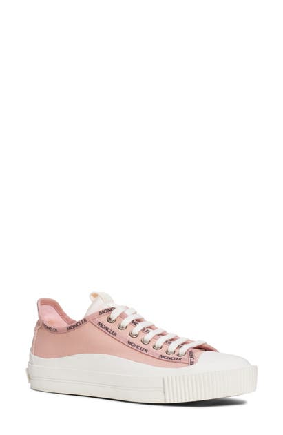 Moncler Women's Glissiere Low Top Sneakers In Blush