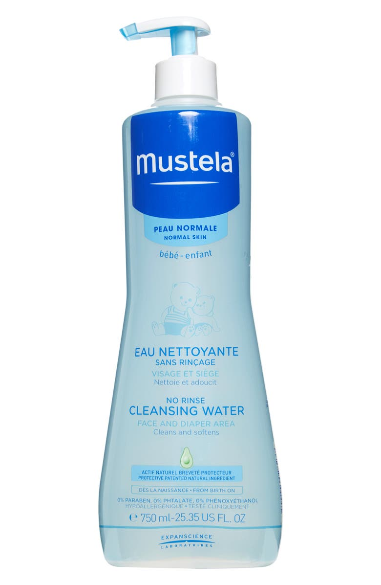 MUSTELA<SUP>®</SUP> No-Rinse Cleansing Water, Main, color, 100
