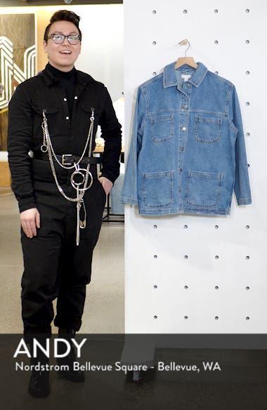 Oversize Denim Jacket, sales video thumbnail