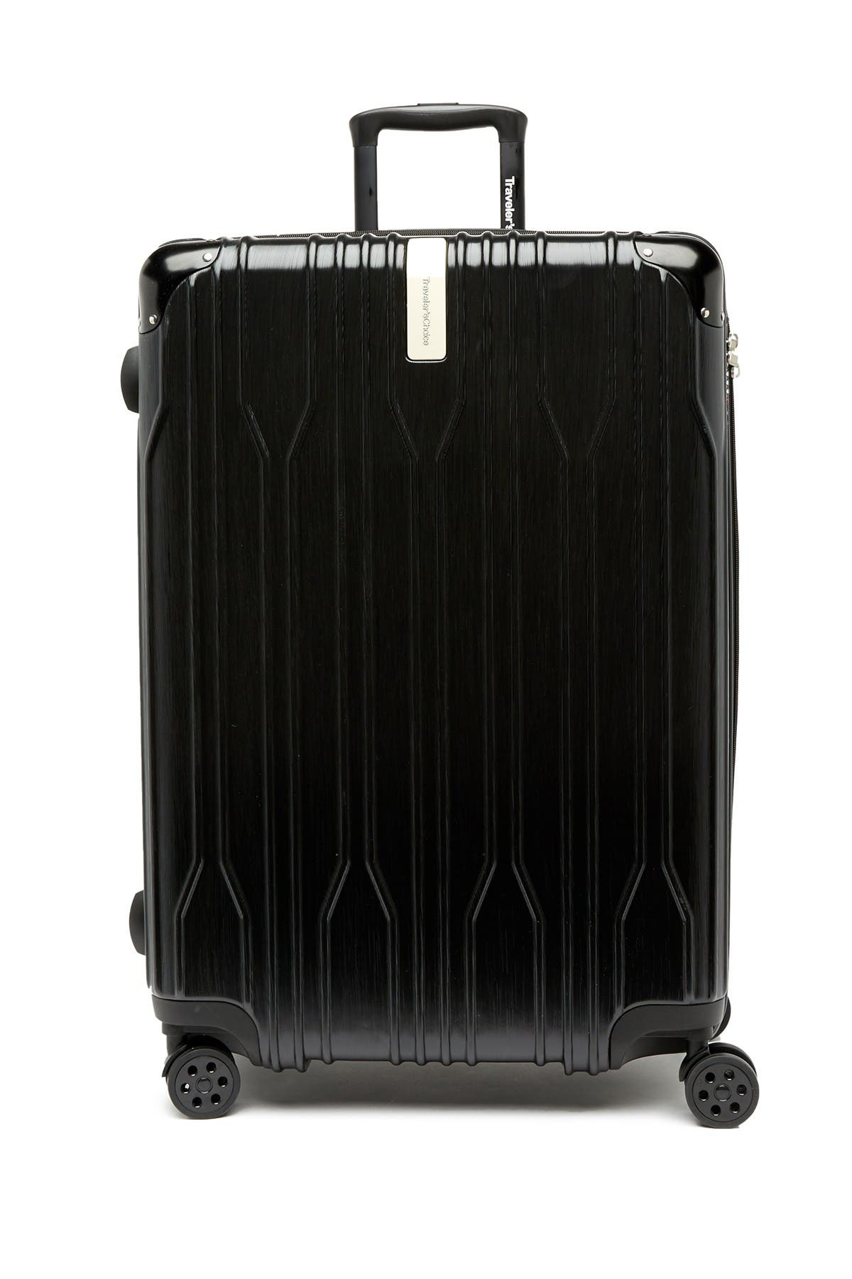 """Image of Traveler's Choice Luggage Bell Weather 28"""" Expandable Spinner Suitcase"""