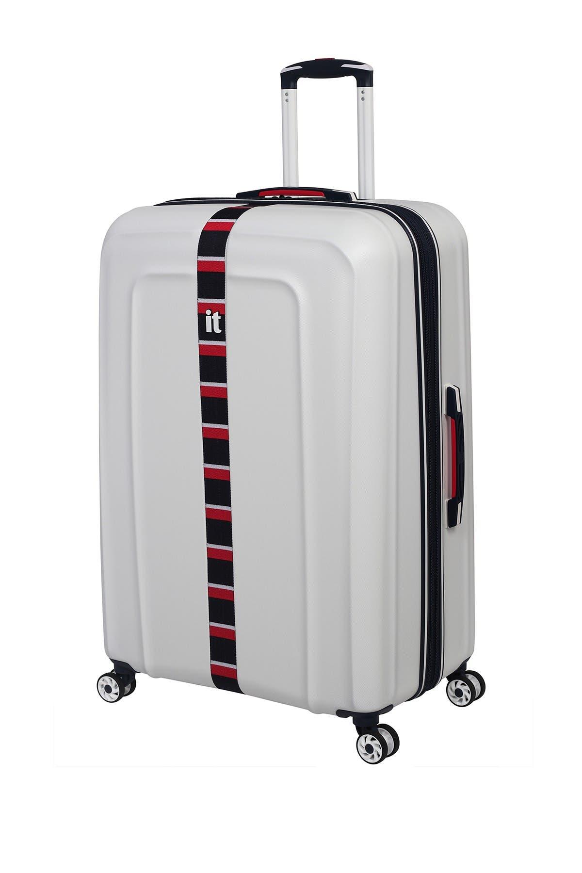 """Image of it luggage White Jupiter 31"""" Hardside Expandable Spinner Luggage"""