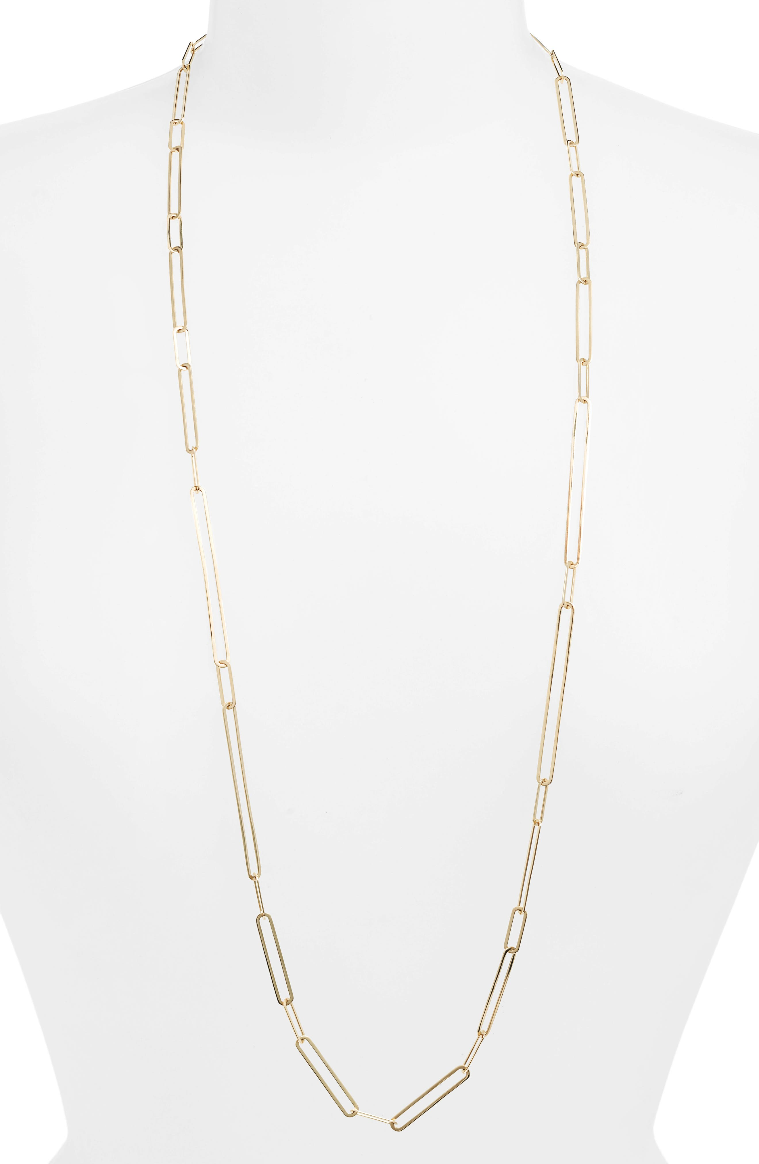 Long Paperclip Necklace (Nordstrom Exclusive)