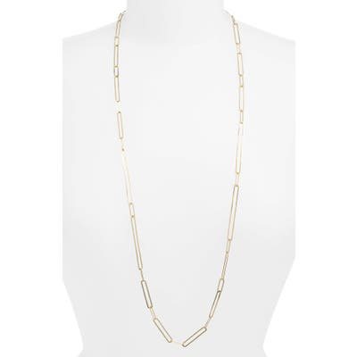 Bony Levy Long Paperclip Necklace (Nordstrom Exclusive)