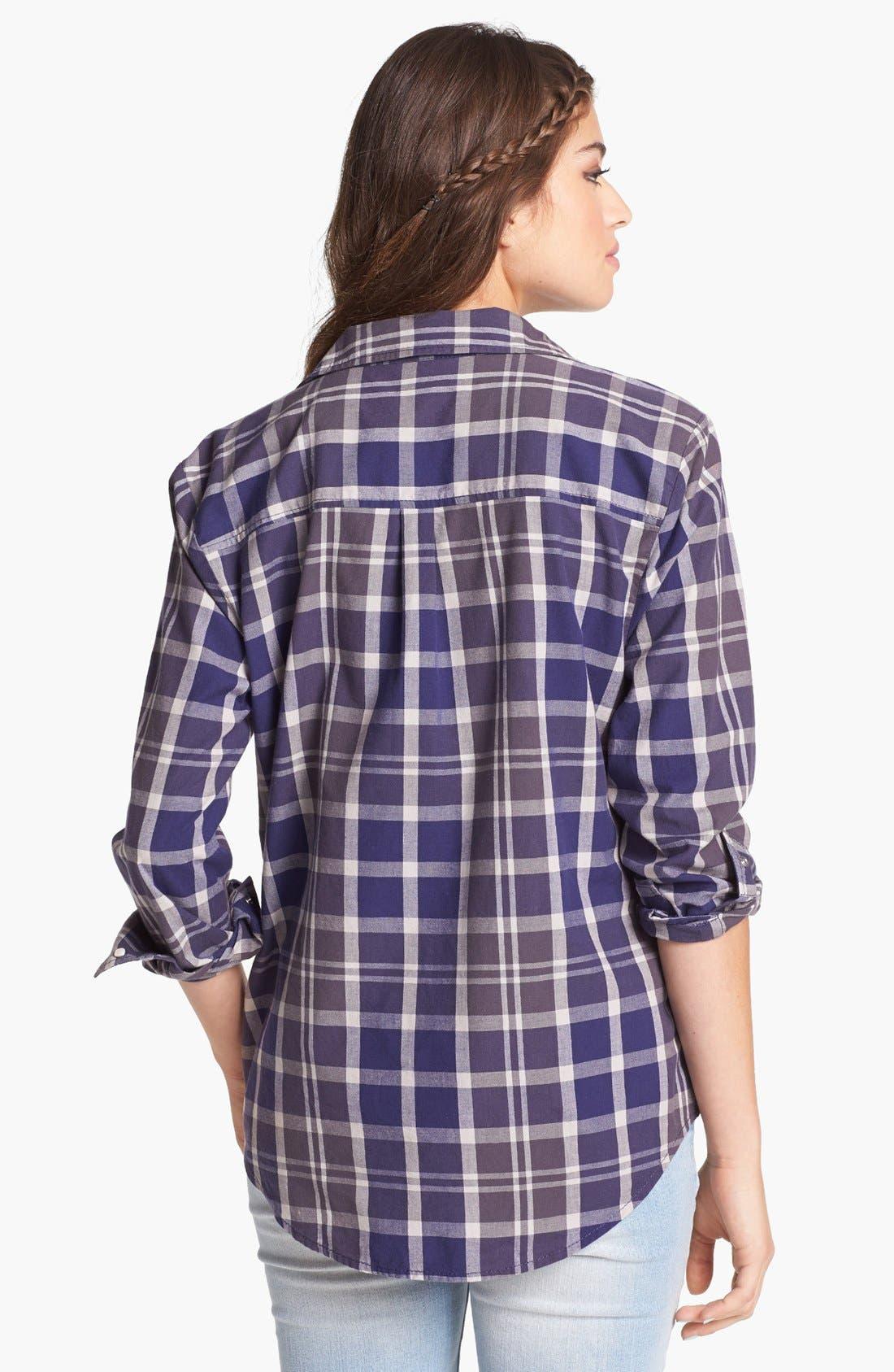 ,                             Plaid Shirt,                             Alternate thumbnail 3, color,                             401