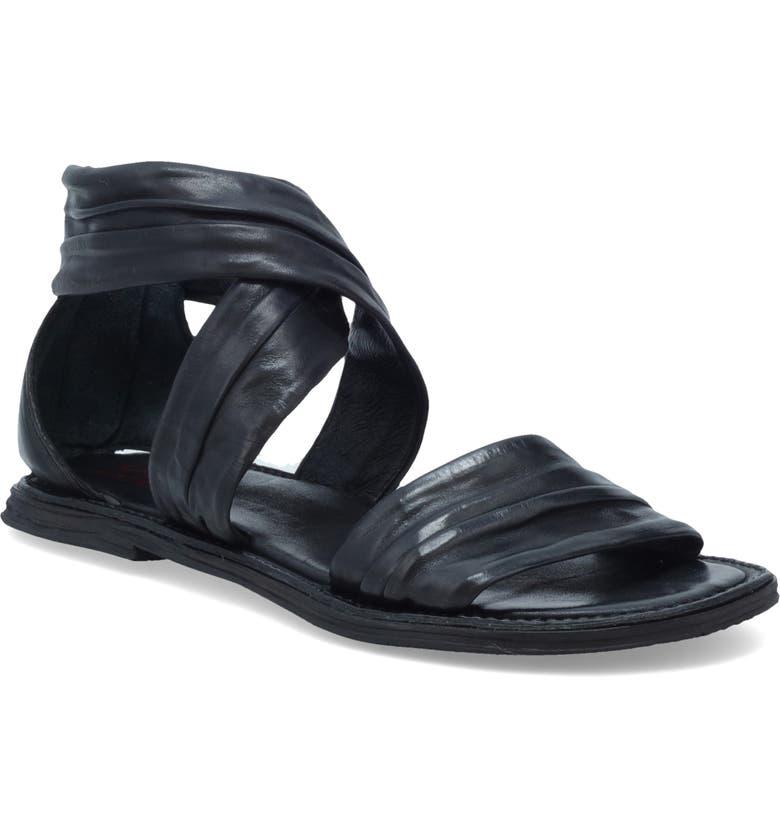 A.S.98 Milo Sandal, Main, color, BLACK