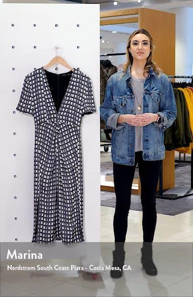 Check Jacquard Midi Dress, sales video thumbnail