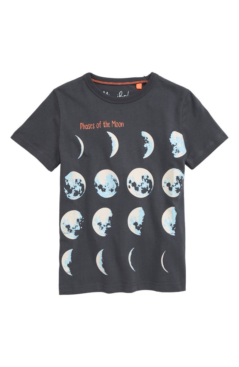 MINI BODEN Glow in the Dark Planets Graphic Tee, Main, color, 024