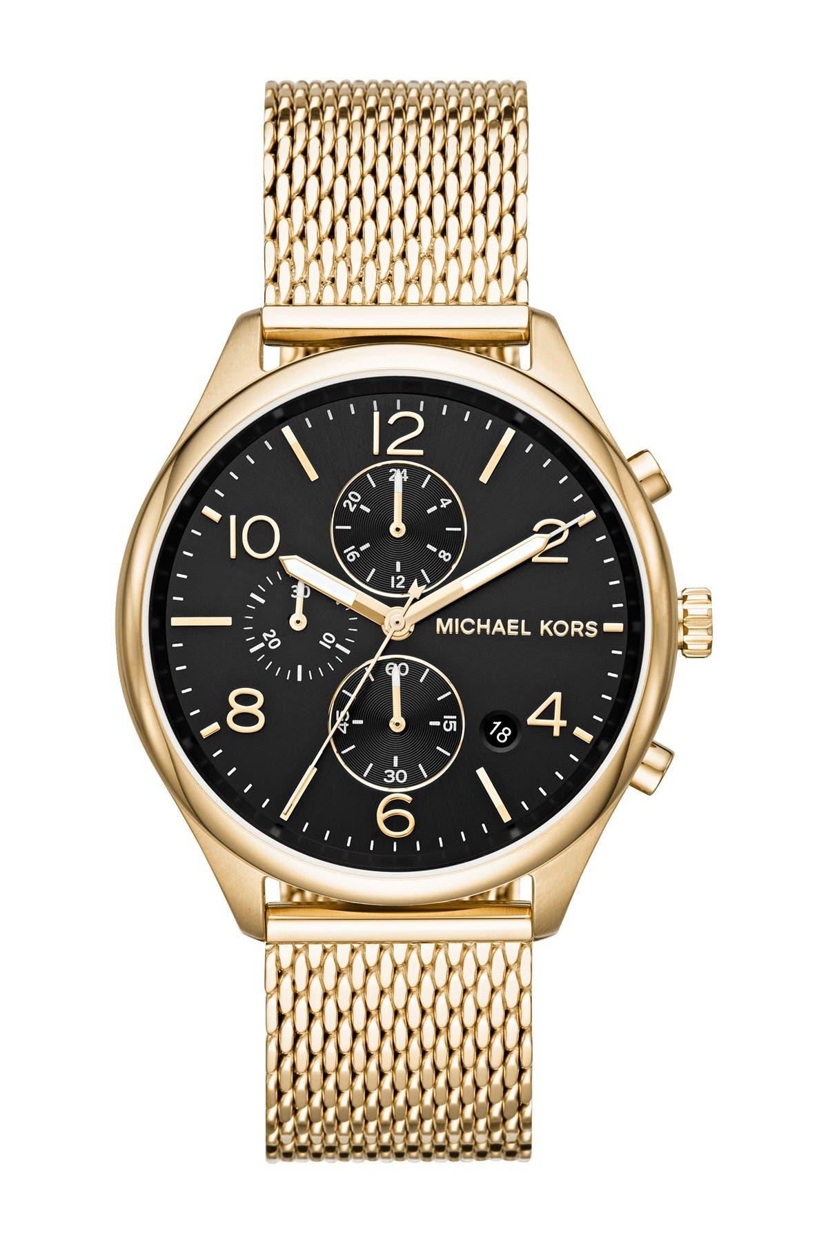 Image of Michael Kors Men's Merrick Chronograph Bracelet Watch, 42mm