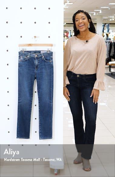 Mari High Waist Ankle Straight Leg Jeans, sales video thumbnail
