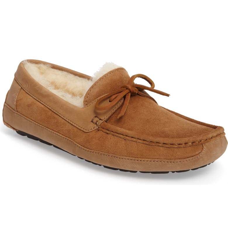 UGG<SUP>®</SUP> 'Byron' Slipper, Main, color, CHESTNUT