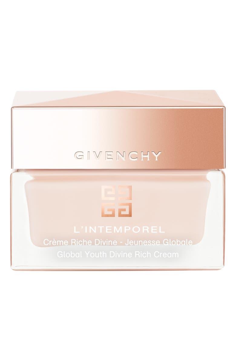 GIVENCHY L'Intemporel Global Youth Divine Rich Cream, Main, color, NO COLOR