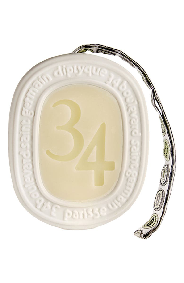 DIPTYQUE '34' Scented Oval, Main, color, 000