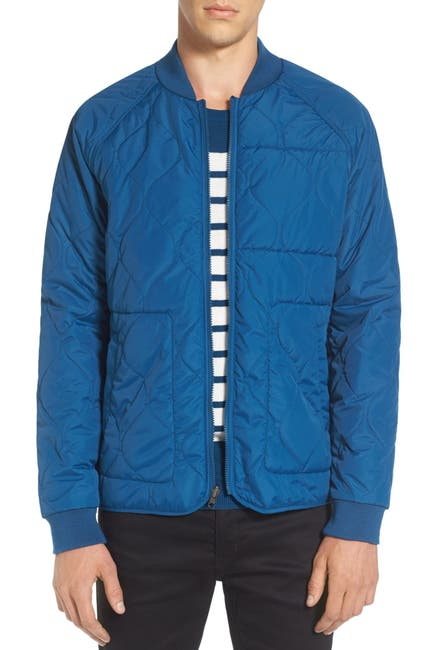 Image of TAVIK Fullton Zip-In Compatible Quilted Bomber Jacket