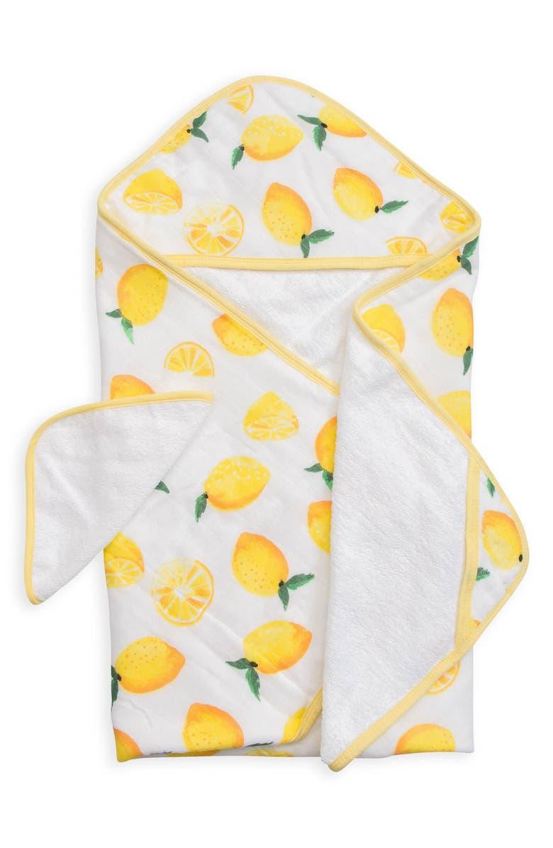 Little Unicorn Hooded Towel Washcloth Set