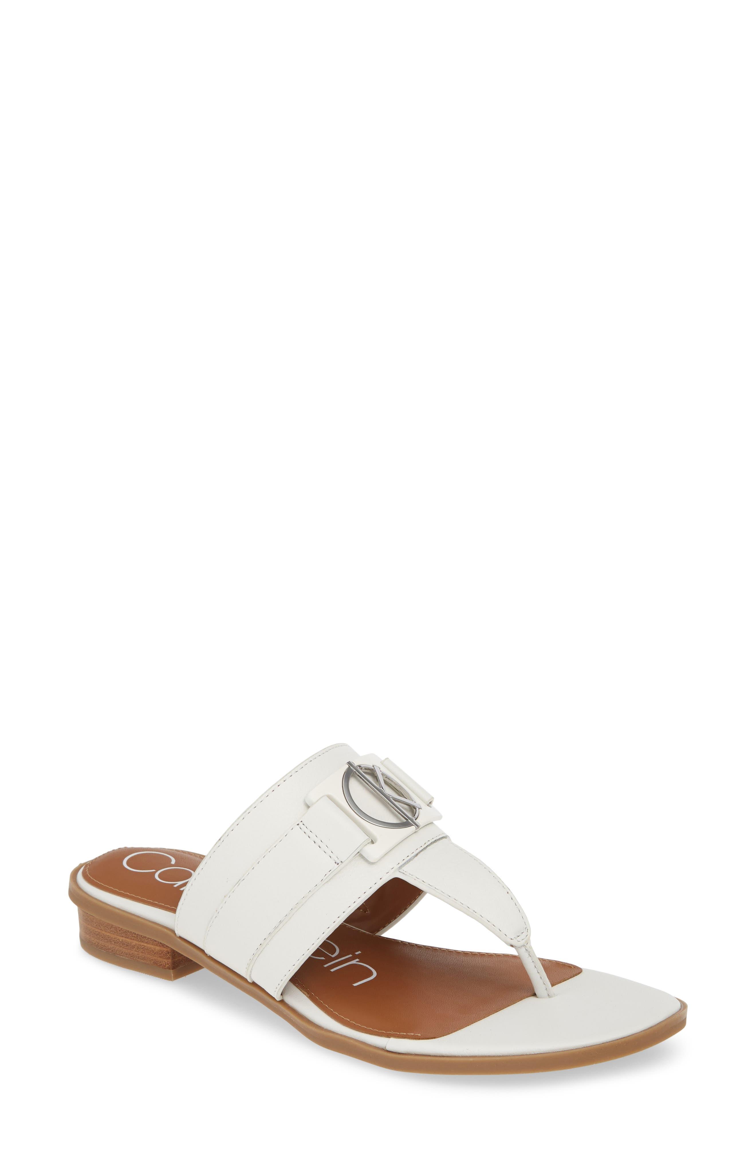 Calvin Klein Farley Flip Flop, White