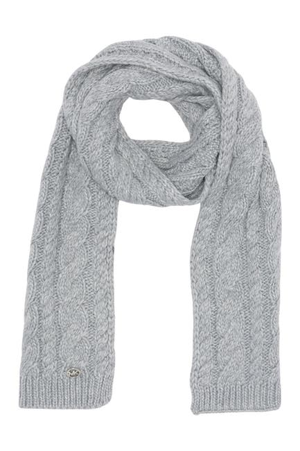 Image of Michael Kors French Cable Knit Muffler