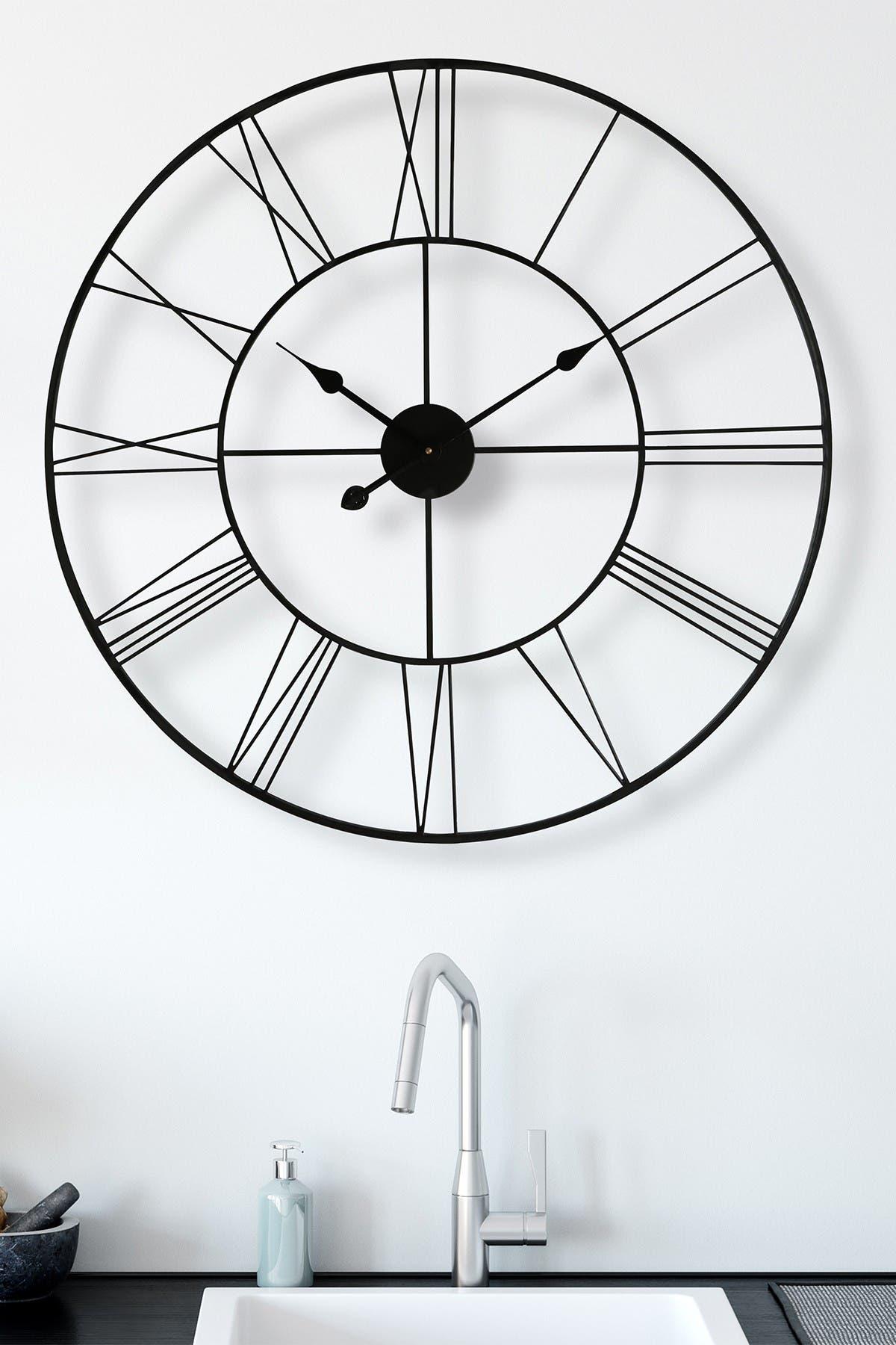 Image of WalPlus Minimalist Slim Iron Wall Clock