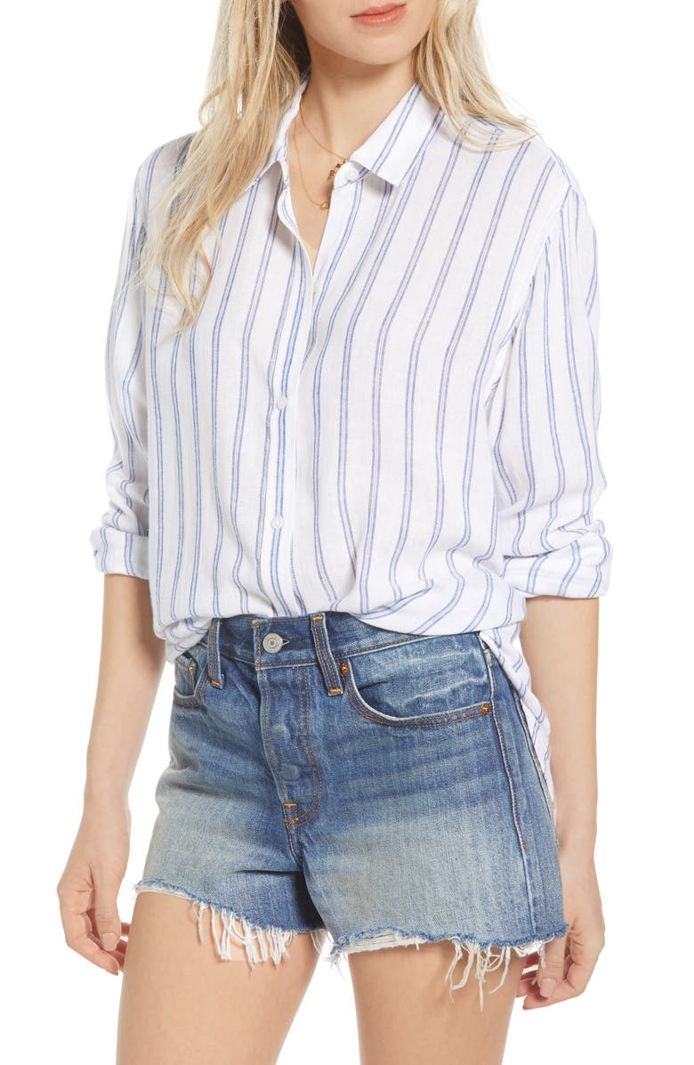 RAILS Sydney Stripe Top, Main, color, MARINE STRIPE