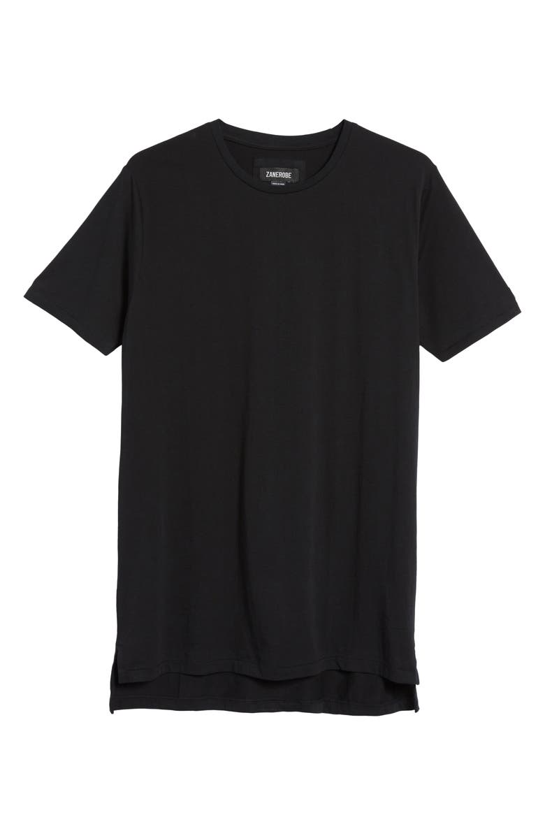 ZANEROBE Flintlock Longline Crewneck T Shirt