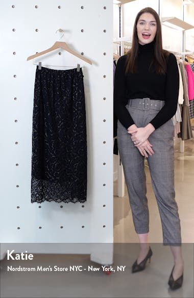 Mori Eyelash Lace Midi Skirt, sales video thumbnail