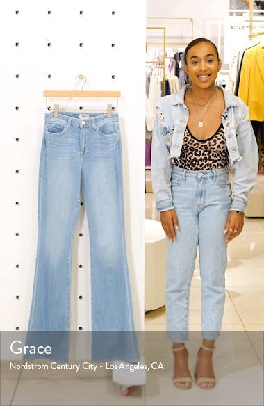 Bell High Waist Flare Jeans, sales video thumbnail