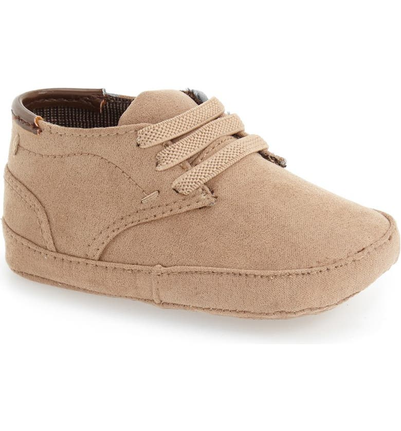 KENNETH COLE NEW YORK 'Real Deal' Crib Shoe, Main, color, SAND