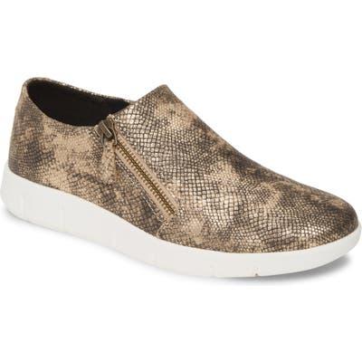 Johnston & Murphy Tracy Platform Sneaker, Metallic