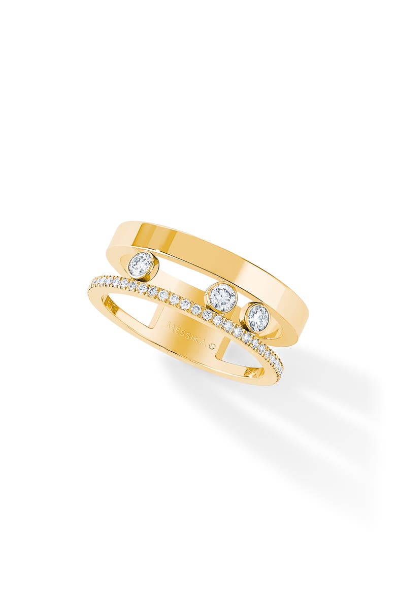 MESSIKA Move Romane Two-Row Diamond Ring, Main, color, 711