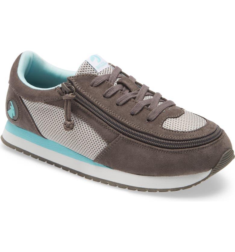 BILLY FOOTWEAR Jogger Sneaker, Main, color, GREY/ MINT