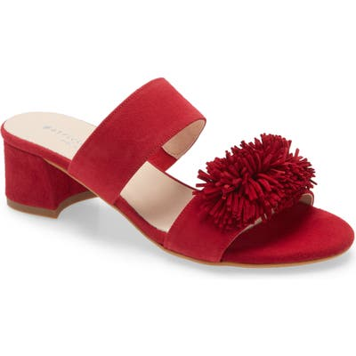 Patricia Green Fiesta Block Heel Sandal- Red