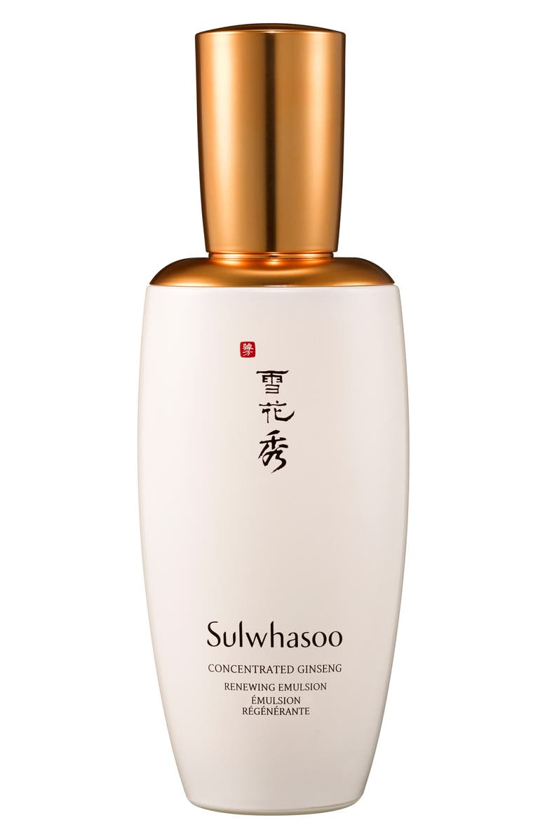 SULWHASOO Concentrated Ginseng Emulsion, Main, color, NO COLOR