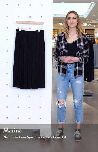 Pleated Chiffon Skirt, sales video thumbnail