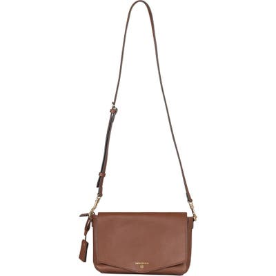 Infant Twelvelittle Peekaboo Crossbody Diaper Bag - Brown