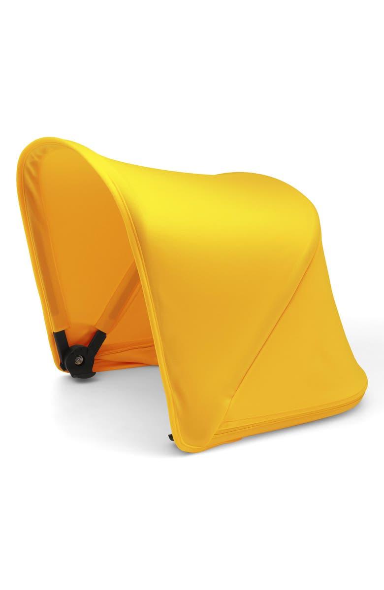 BUGABOO Sun Canopy for Bugaboo Fox Stroller, Main, color, SUNRISE YELLOW