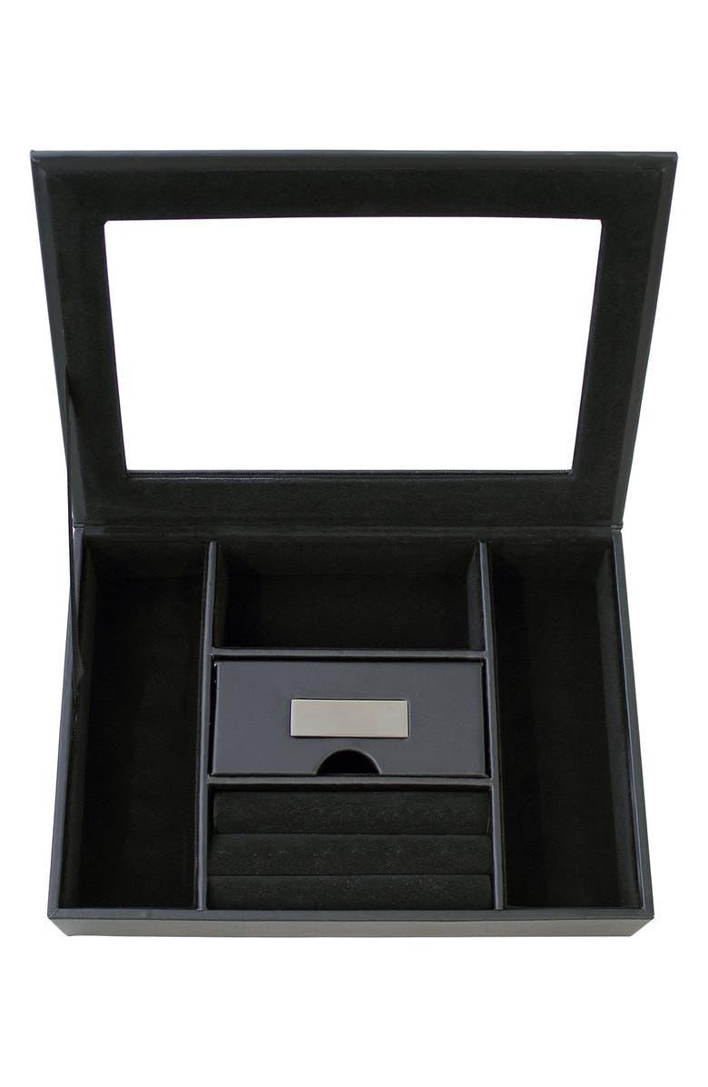 CATHY'S CONCEPTS Monogram Valet Box, Main, color, 001