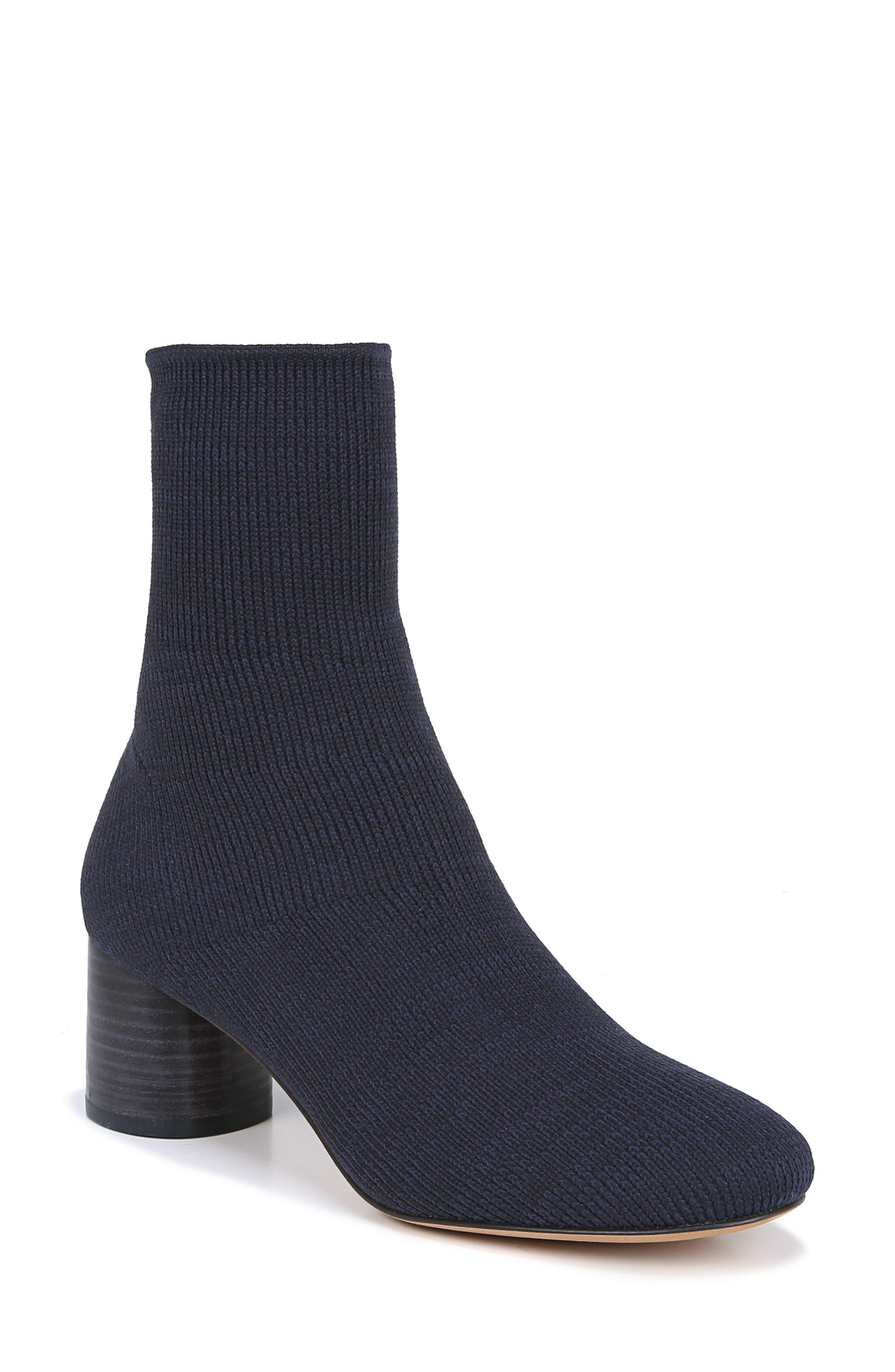 Vince Tasha Sock Bootie- Blue