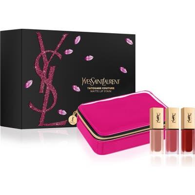 Yves Saint Laurent Tatouage Couture Lip Trio - (Nordstrom Exclusive) ($108 Value)