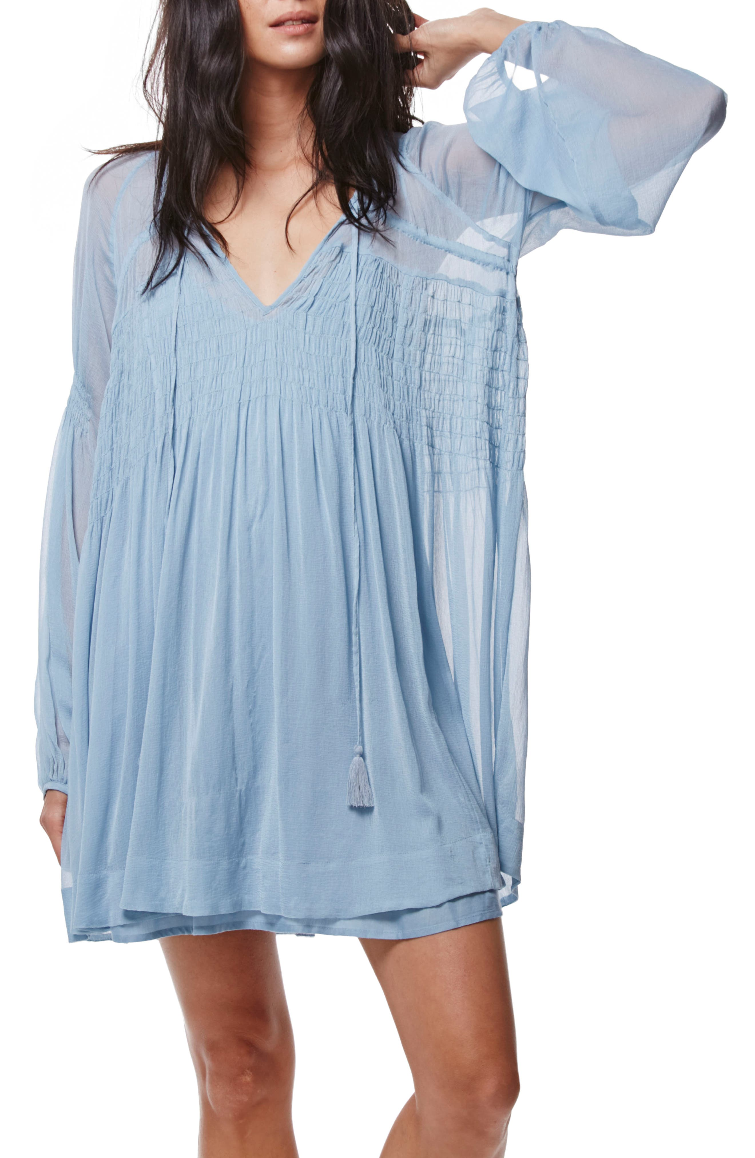 ,                             Lini Babydoll Dress,                             Alternate thumbnail 11, color,                             400