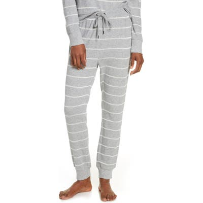 Splendid Crop Jogger Pajama Pants, Grey