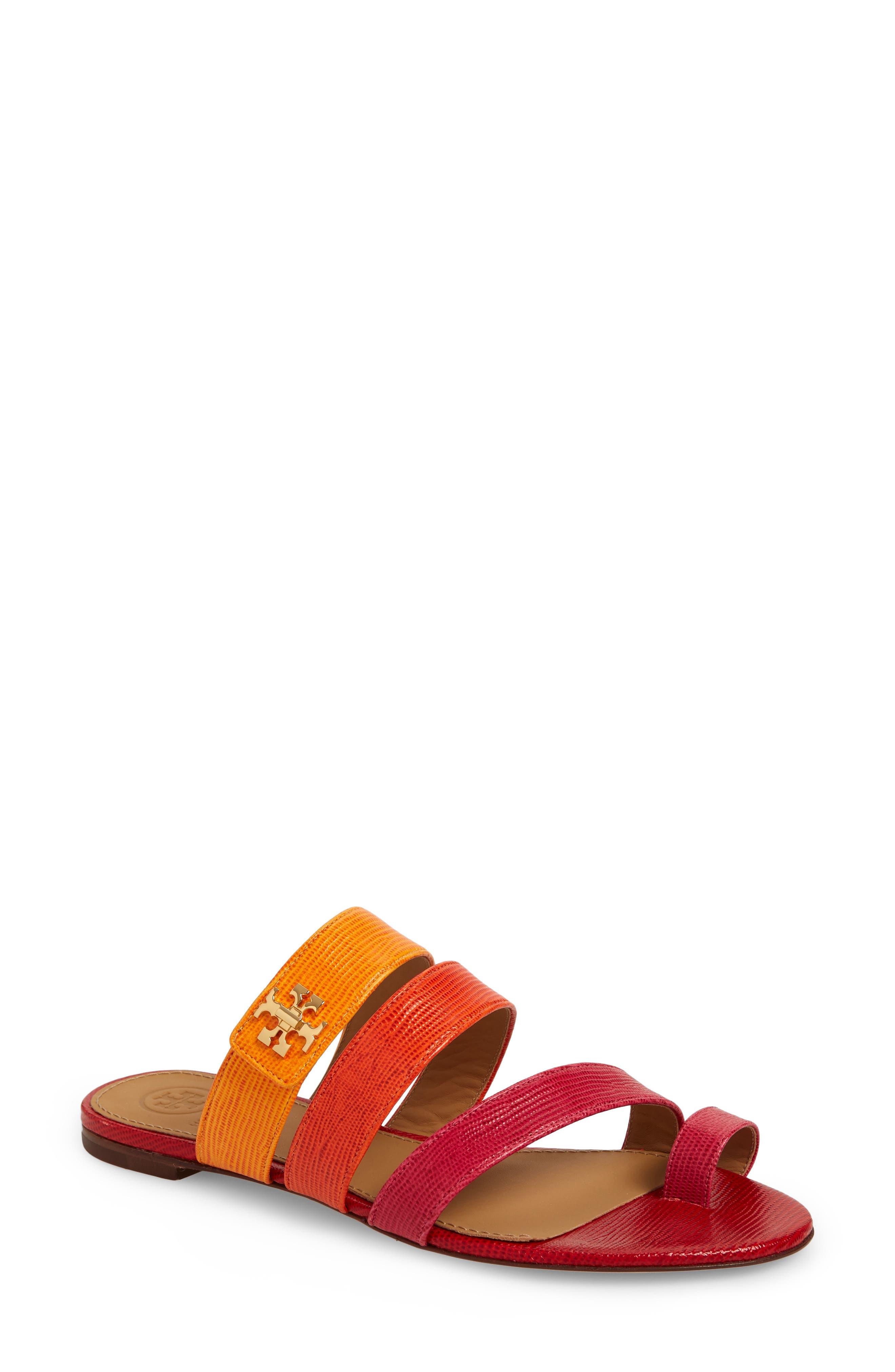 Tory Burch Kira Toe Ring Sandal, Pink