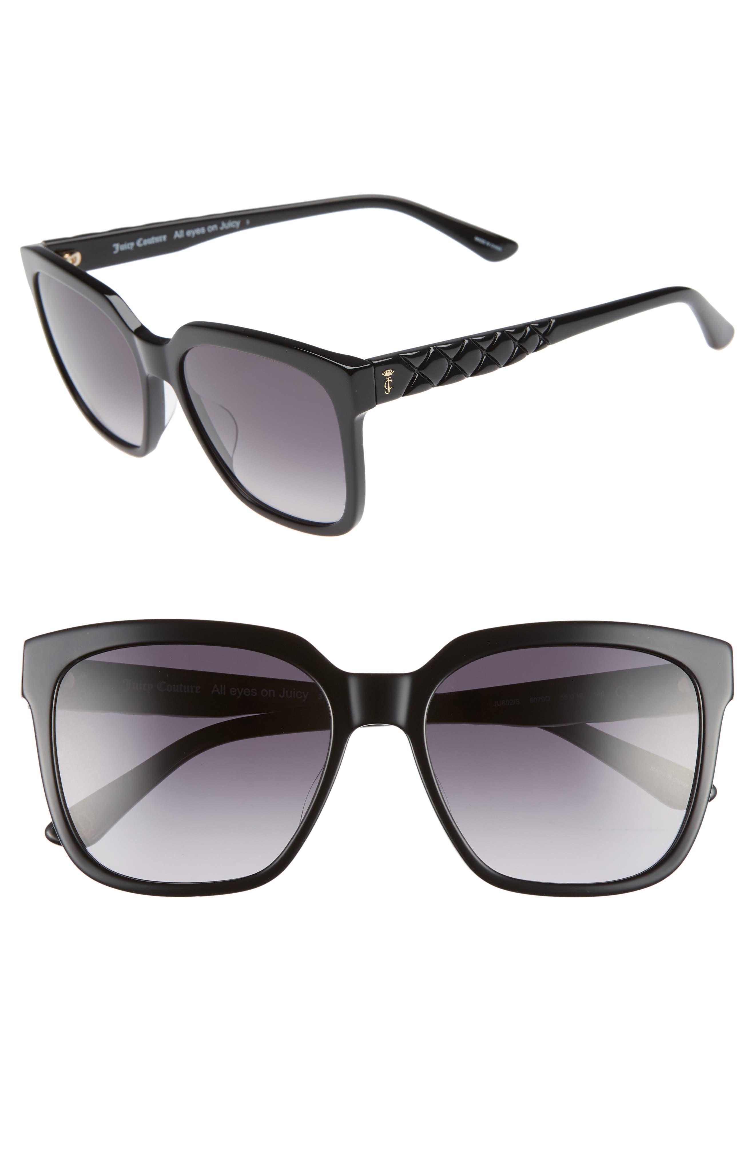 Core 55mm Square Sunglasses