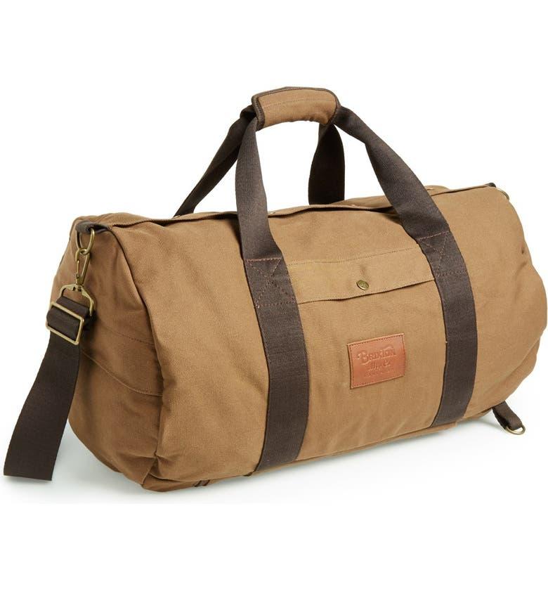 BRIXTON 'Bixby' Duffel Bag, Main, color, 210