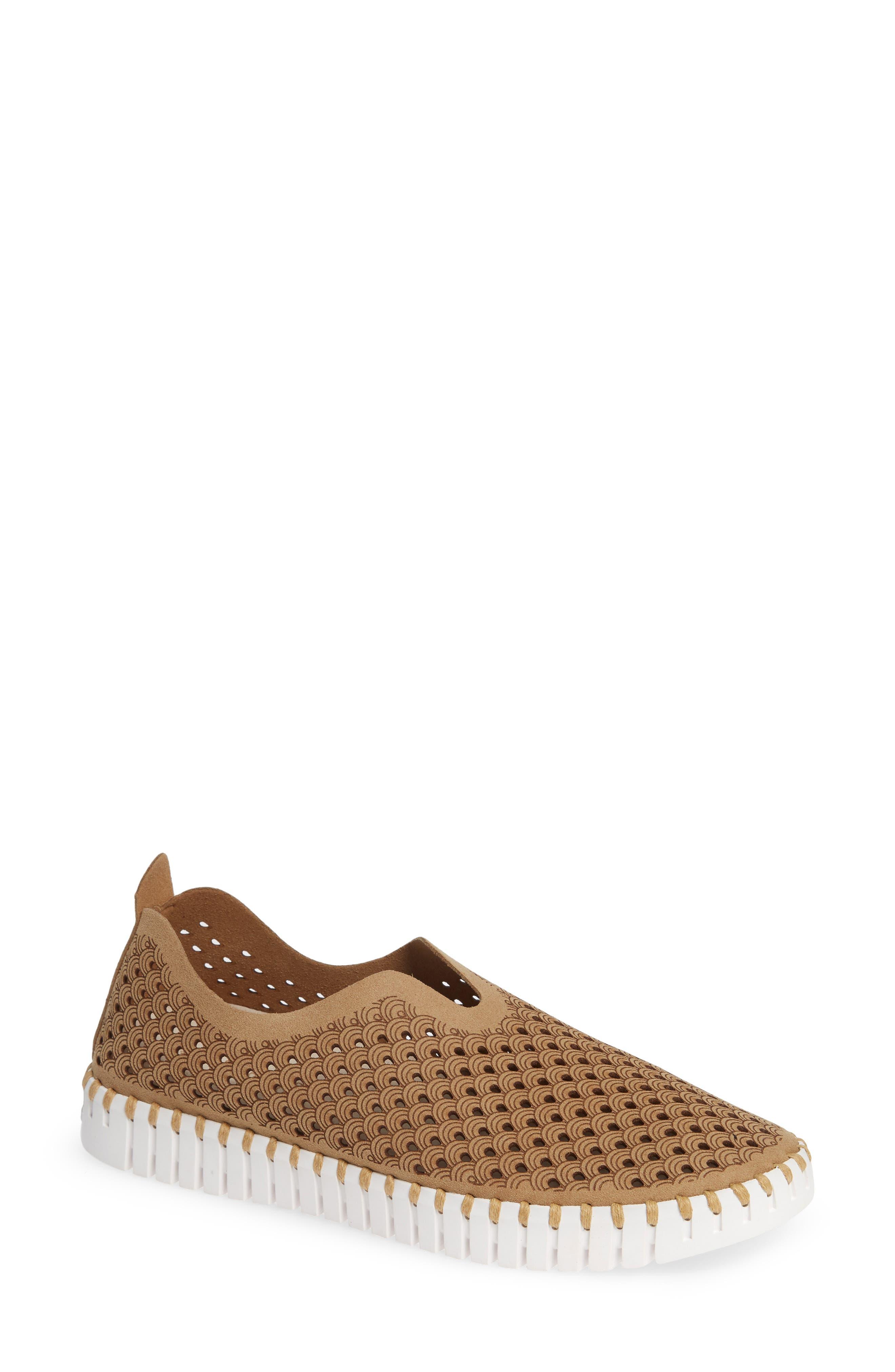Ilse Jacobsen Tulip 139 Perforated Slip-On Sneaker (Women)