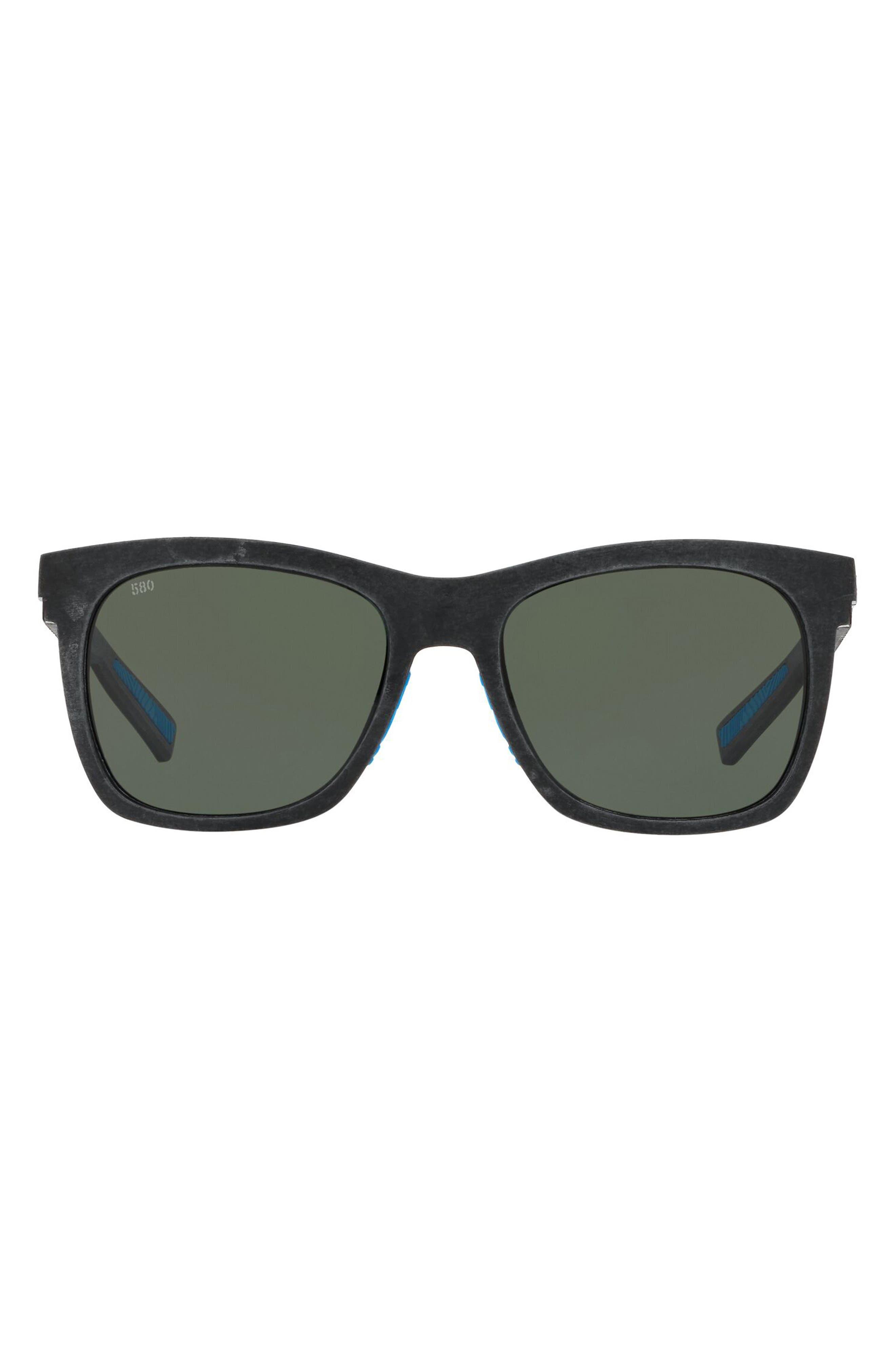 Caldera 55mm Square Polarized Sunglasses