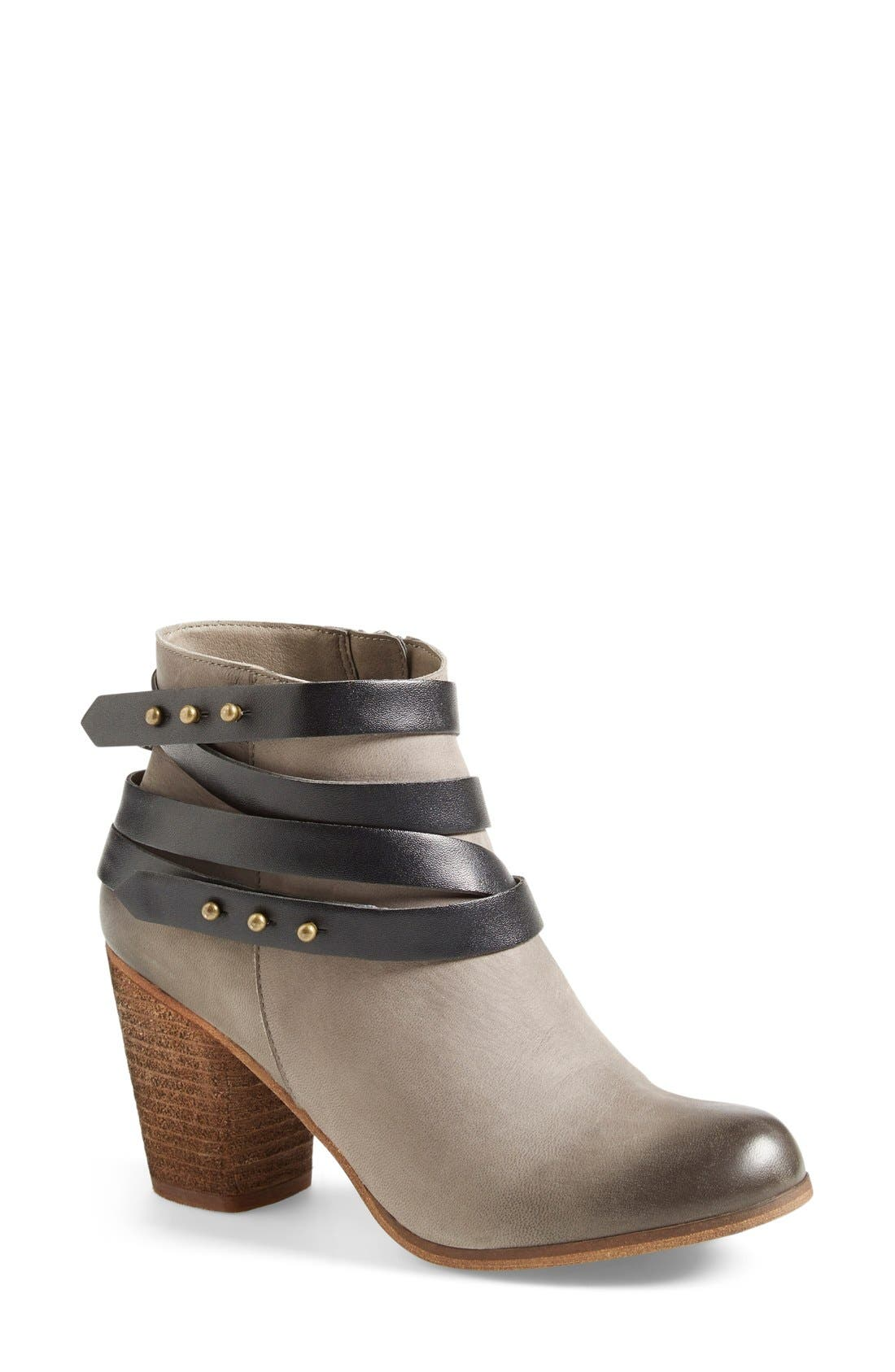 ,                             'Train' Wrap Belted Bootie,                             Main thumbnail 9, color,                             025