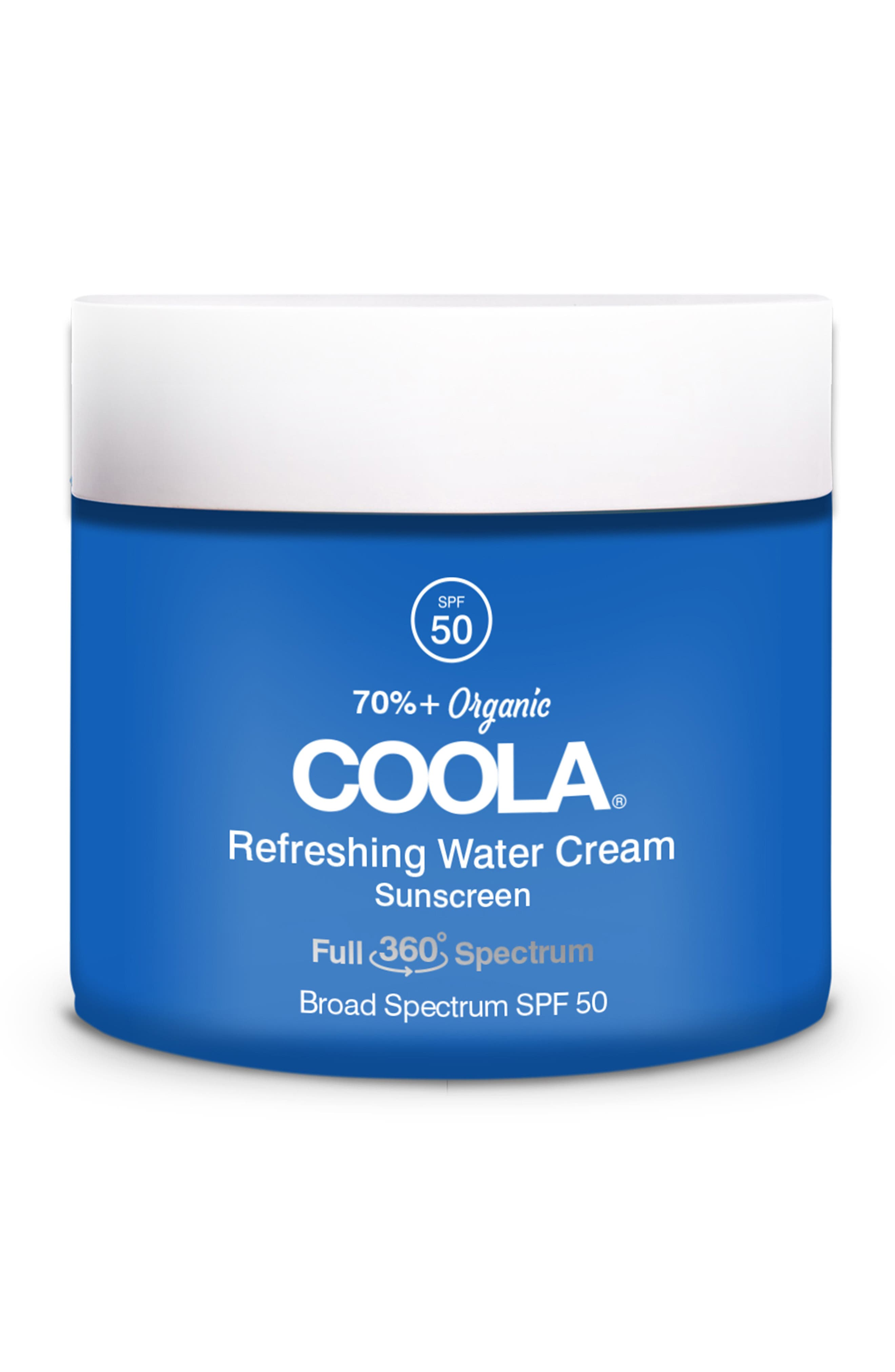 Coola Refreshing Water Cream Broad Spectrum Spf 50 Sunscreen