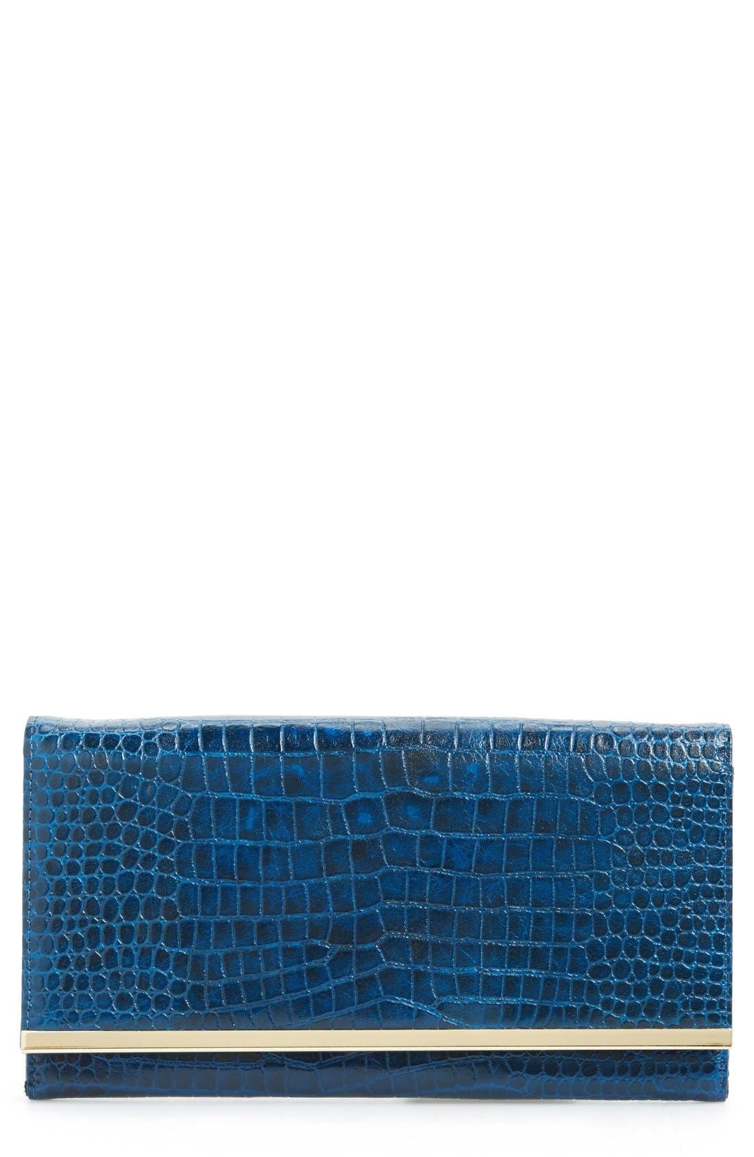 Halogen Clutch Wallet