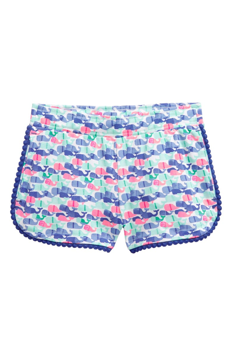 VINEYARD VINES Candy Whale Pull-On Shorts, Main, color, 100